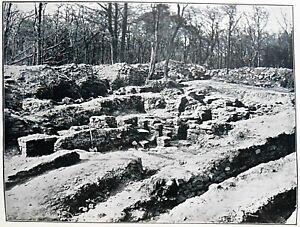 Rough Castle on the Antonine Vallum - 1905