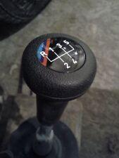 BMW E21 E30 M TECHNIC 5-SPEED SHIFT GEAR KNOB W/ BADGE EMBLEM GENUINE OEM NEW
