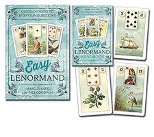 Easy Lenormand by Marcus Katz & Tali Goodwin (2015, Book & Deck Kit)