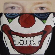 HALLOWEEN Maschera Pagliaccio Horror Clownmaske Joker panno Mezza
