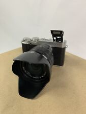 Fujifilm X-M1 16.3MP / Digital Camera - Silver (Kit w/ XC OIS 16-50mm...