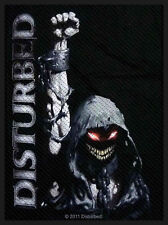 DISTURBED - Patch Aufnäher - Reaper fist 7x10cm