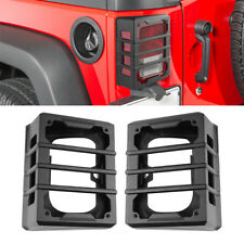 2X Rear Lamp Taillight Protector Cover for Jeep Wrangler 07-17 Tail Light Guard