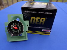 NEW 1969 Chevelle Center Dash Clock OER Parts 3948956 Correct Green Markings