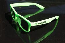 Bacardi Sonnenbrille - GRÜN- getönt schwarz - Trendbrille - NEU OVP