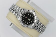 Tag Heuer 2000 WK1310 Black Classic SS Watch Womens 1K Professional Mint Crystal