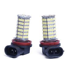 2 X H11 AMPOULE LAMPE 3528 SMD 120 LEDs BLANC 12V POUR VOITURE W8V6