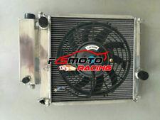 Radiator +FAN For BMW 3 E30 E36 Z3 316i 318i 320i 323i 325 5 E34 Z1 4Cyl 6Cyl MT