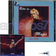 "RITA PAVONE ""RITA IS MAGIC - LIVE 1993"" RARO 2CD SEALED"