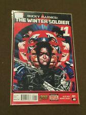 Bucky Barnes The Winter Soldier #1 Comic Book Marvel Comics
