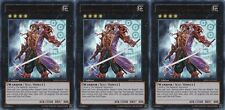 Shadow of the Six Samurai - Shien X 3 1st Mint ultra YUGIOH Cards SDWA-EN041