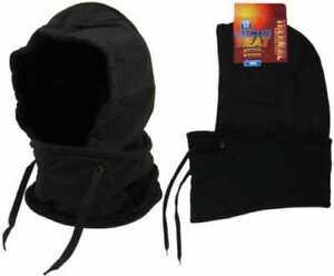 Hat Balaclava Fleece 3.5 Tog Neck Warmer Snood Scarf Work Ultimate Heat Thermal