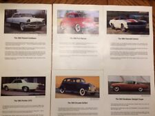 Danbury Mint 1991 Selection Of The New Cars To Be Offered 12 Photos Ballot
