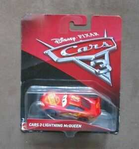 Mattel Disney/Pixar Cars 3 Lightning McQueen Die-Cast Vehicle NIP
