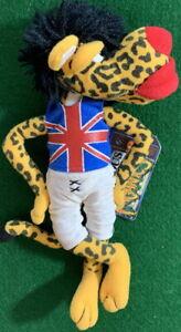 INfamous Meanies 1998 MICK JAGUAR Spoof Jagger Stones Bean Bag Plush New w/ Tag!