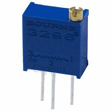 100pcs 50 ohm Trimmer Trim Pot Variable Resistor 3296 50R new