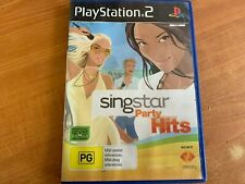 SingStar Party Hits PlayStation 2 PS2 PAL - booklet included #V010