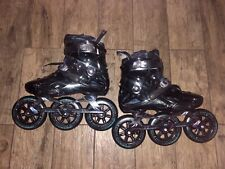 Powerslide Imperial 125mm Fitness Rec Inline Skates Dual Mens Size 9 43