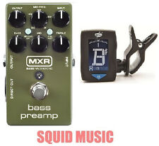 MXR Dunlop M81 Bass Preamp Direct Out 3-band EQ ( FREE GUITAR TUNER ) M-81