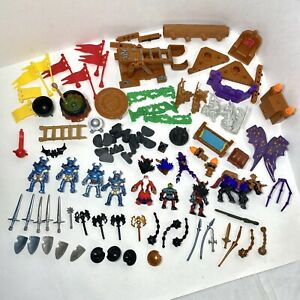 Fisher Price Imaginext Midieval Knights Figures Toys Lot 2001 Castle Accessories