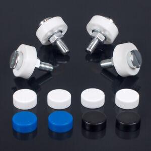 Kennzeichenschrauben | M5 x 20 | Schrauben | Autokennzeichen | Komplett-Set