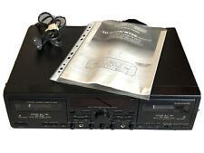 JVC TD-W708 Double Cassette Tape Deck