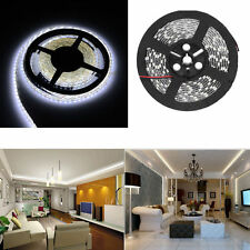 White 5M NON Waterproof 300 LED 3528 SMD Flexible LED Light Lamp Strip DC 12V