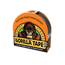 Gorilla Tape Black 48mm x 11m Stronger Thicker Tougher All Weather Durable Tape