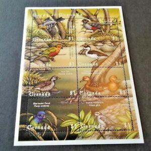 Grenada 2000 Birds of Grenada Sheet Unmounted Mint/ Never Hinged
