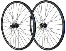 700c wheelsON Front Wheel and Rear Wheel  8/9/10 speed Black 32H for Disc Brake