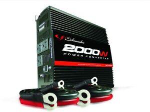 New Schumacher PC-2000 2000-Watt Portable Power Converter Inverter