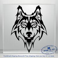 Wolf Dog Doggy Snout Auto Car Bumper Window Vinyl Decal Sticker Truck Waterproof