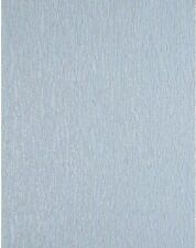Light Blue Heavy Textured Satin Unpasted Wallpaper 619211