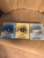 James Bond 007 Blu Ray Collection Vol. 1-3