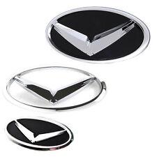 V Eagle Front Rear Steering Wheel Emblem 3p For 2011-2014 Hyundai i45 Sonata YF