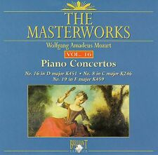 The Masterworks Vol. 16-Wolfgang Amadeus Mozart Piano Concerto K451.K246,K459 CD