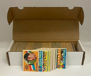 1960 Topps Baseball Complete Set (572) w/ Yastrzemski RC + Mantle Clemente Aaron