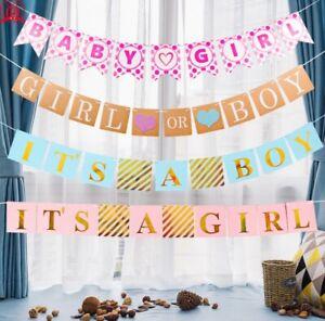 6 Metre Baby Boy Bunting New Baby Birth Baby Shower Celebration Banner Garland