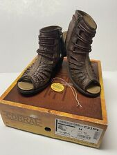 Ladies Corral Western Sandals Size 9.5 C3194