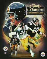 Jack Lambert Autographed Signed 8x10 Photo ( HOF Steelers ) REPRINT