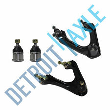 New 4pc Front Upper Control Arms w/Ball Joints + Lower Ball Joints for Acura CL