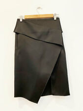 Designer Dion Lee Size 6 Wrap Effect Black Worn Once Amazing Women's Skirt