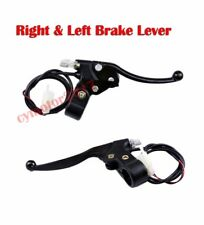 Pair Razor Brake Lever For ATV Dirt Bike Electric Scooter Go Kart  Mini Chopper