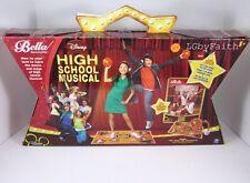NEW Disney High School Musical Bella Dancerella Dance Studio DVD MAT HEADSET BAL