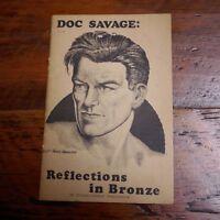 1978 DOC SAVAGE: Reflections in Bronze Frank Hamilton Pulp Fiction Fanzine