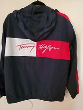 Tommy Hilfiger Womens Full Zip Logo spell out Windbreaker...