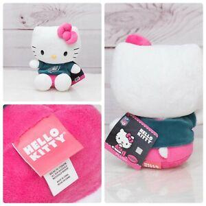 "NFL Football Philadelphia Eagles Hello Kitty Cheerleader Plush Toy 8"" EUC"