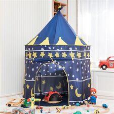 Kids Children Play Tent Prince Princess castle Indoor outdoor playhouse Gift
