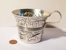 1907 Copy of Ancient Mycenaean Silver Repousse Cup SWIMMING DOLPHINS Scene Greek