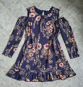 PATRIZIA PEPE  süßes Kleid cut outs Gr. 36 NP 268 €